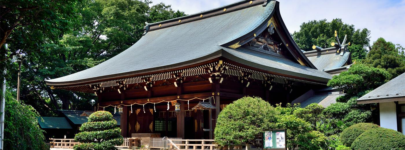 世田谷区喜多見 氷川神社