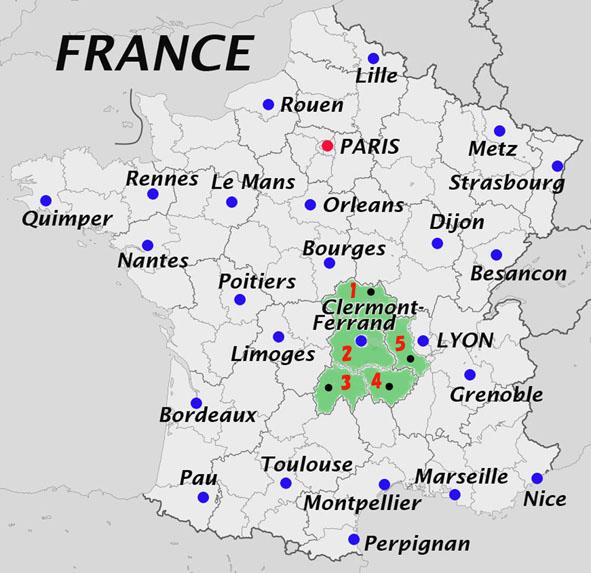 「オーベルニュ(Auvergne)地方」の画像検索結果