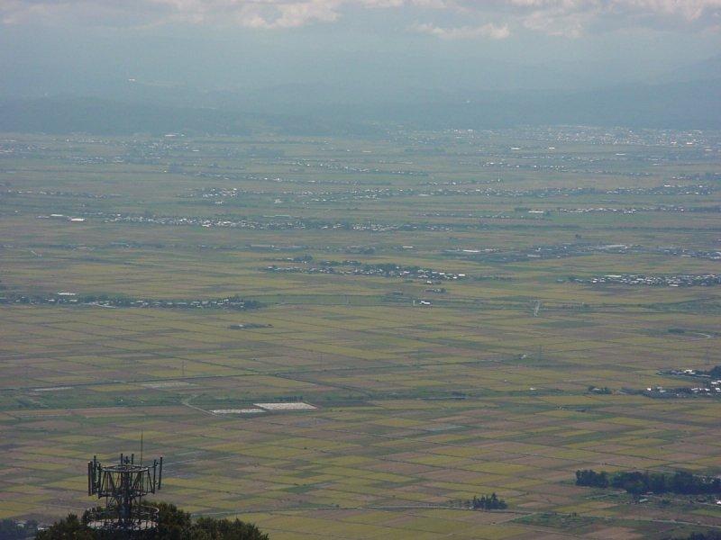 弥彦山頂から秋の風景 Part1(中...